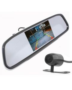 In Phase DINY603B-W Wireless rear view mirror visual parking aid with camera