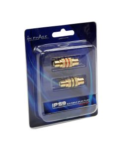 IPS9 Gold Plated Female Splice Plugs