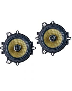 In Phase XTC17.2CF 17cm 250 Watts 2-Way Rotary Tweeter Car Door/Shelf Speakers